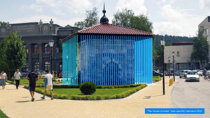 Голямата чешма се преобразява в Къща на водата по идея на Христо Гелов