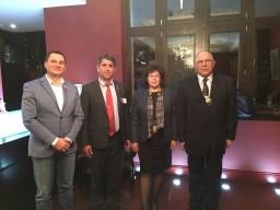Райко Масларски Нина Митева , Сотир Немов и АД гуверньор Йонко Гергов